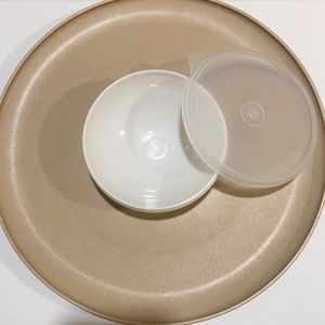 Vintage Tupperware Chip and Dip Set